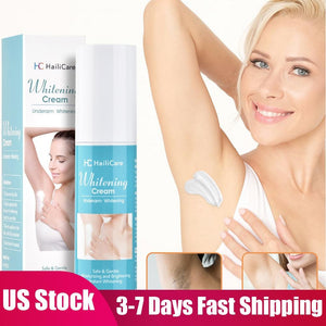 US Stock Underarm Whitening Cream Armpit Whitening Cream Legs Knees Private Parts Body Whitening Cream Skin Care