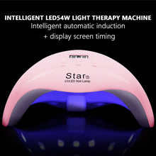 54W Nail Dryer 18 LED UV Light Lamp for Acrylic Gel Nails Polish Remover Machine