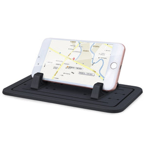 Anti-skid Pad Bracket Mobile Smart Phone Driving Support (Black)