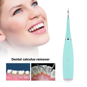 Electric Sonic Dental Scaler Tooth Calculus Remover Portable Tooth Stains Tartar Tool Dentist Whitening Teeth Health Hygiene