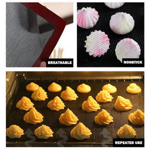 New Perforated Silicone Baking Mat Non-Stick Baking Oven Sheet Liner for Cookie /Bread/ Macaroon/Biscuits Kitchen Tools