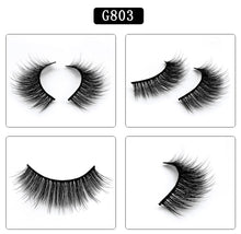 5 Pairs 3D Mink Lashes Natural Eyelash Extension Thick Natural Long False Eyelashes Hand Made