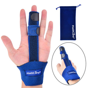 Finger Corrector Brace Stabilizer Adjustable Guard Support Splint Arthritis