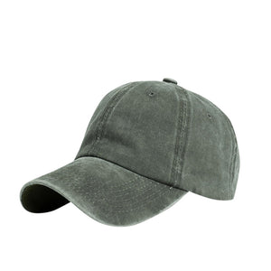 Summer Outdoor Unisex Solid Polyster Baseball Cap Casual