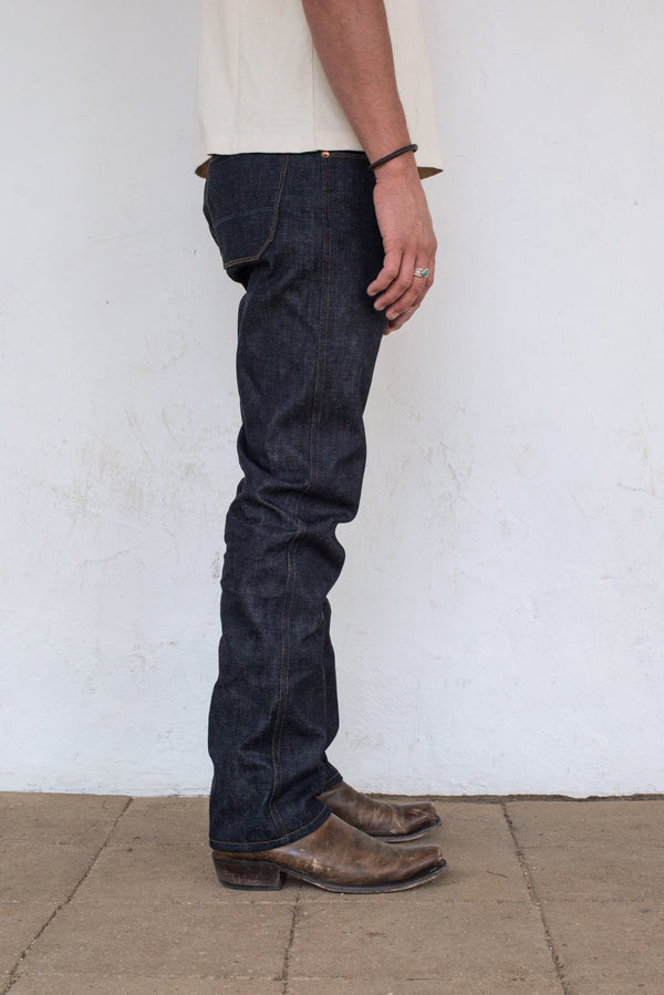 Wilkes Western Raw 14.25oz Broken Twill Japanese Denim