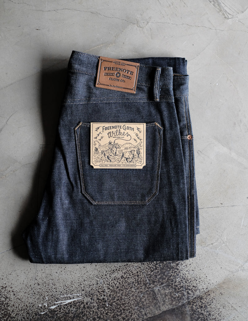 Wilkes Western - Raw Selvedge Denim