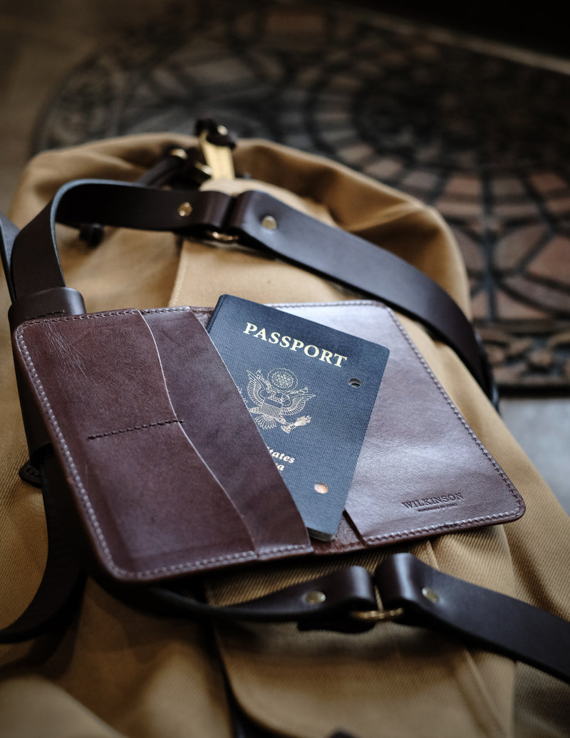 Travel Book - Dark Brown