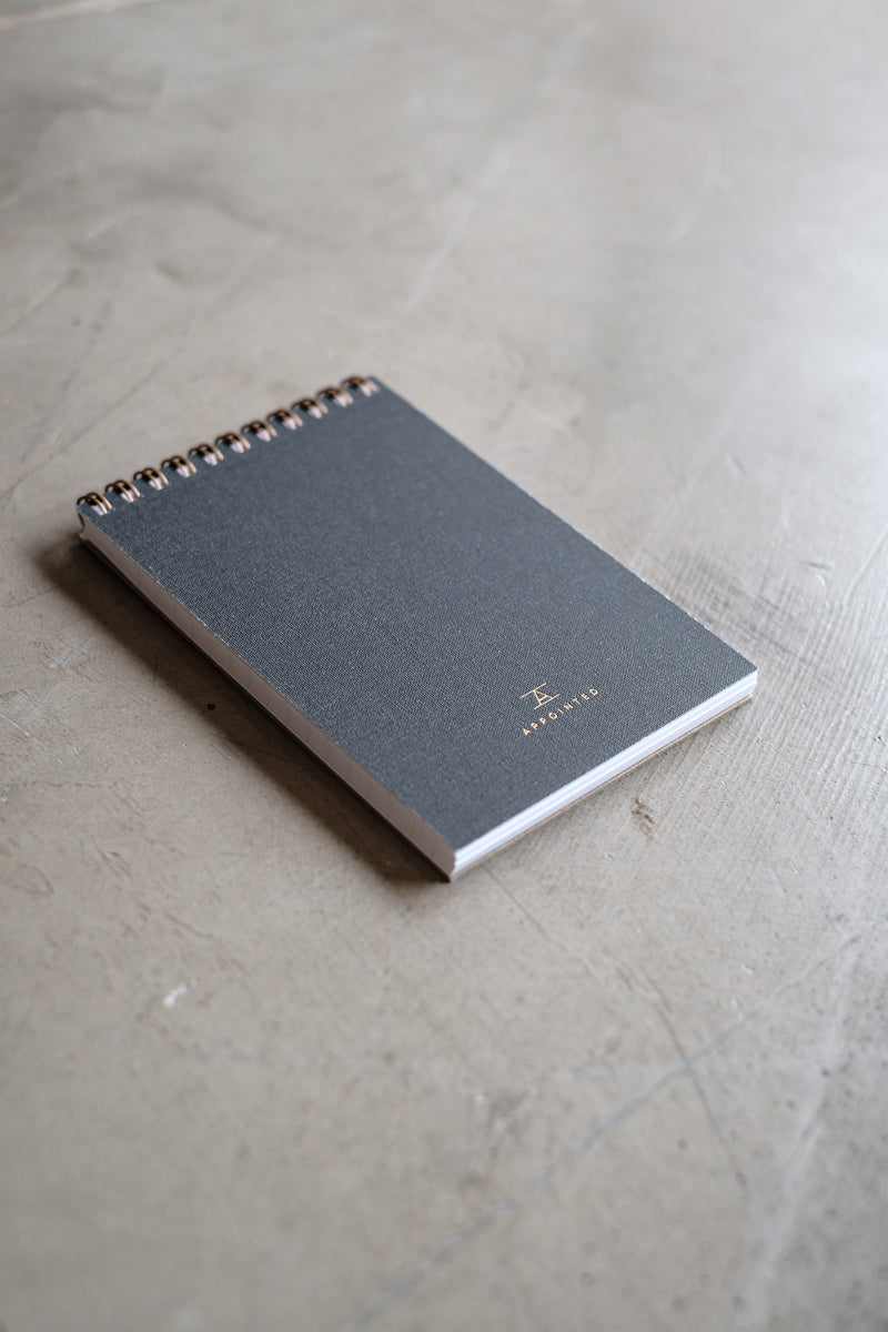 Pocket Notepad - Charcoal