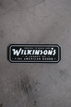 Sticker | Fine American Goods
