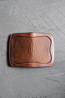 Elm Type I - Buck Brown Harness With Bison Inlay
