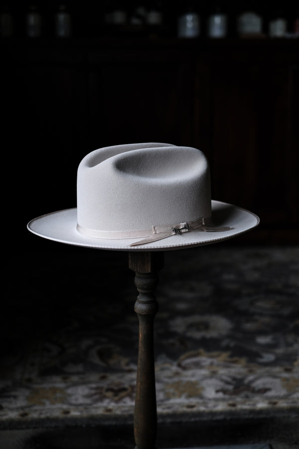 Stetson Royal Deluxe Open Road Felt | Silver Belly