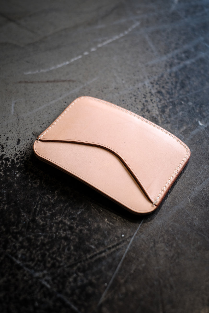 Hickory Type 1 Wallet - Natural Leather