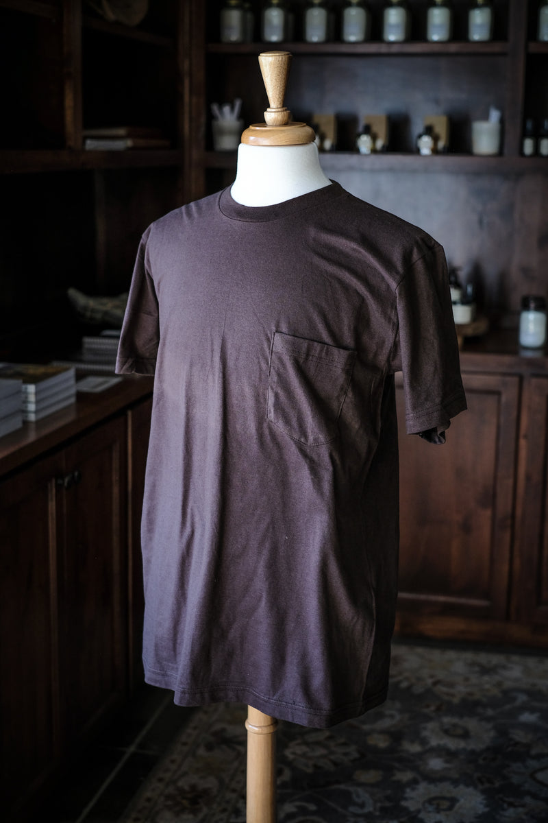 Wilkinson's Pocket Tee | Made In Texas | Brown