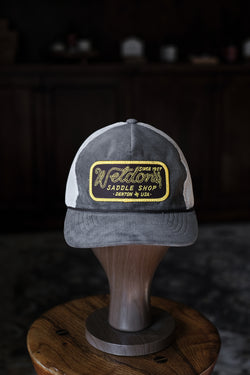 Weldon's Rope Hat - Corduroy Brown/Khaki