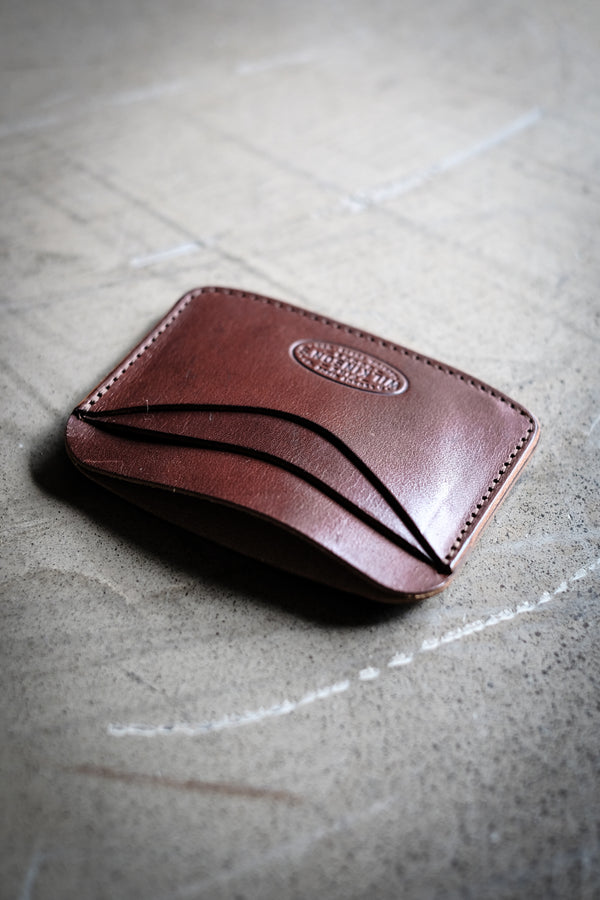 Hickory Type 1 Wallet - Dark Brown Bridle Leather