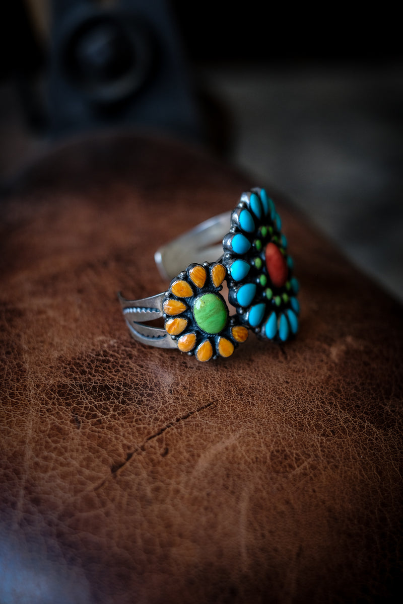 Sterling Silver + Turquoise Cuff - Don Lucas