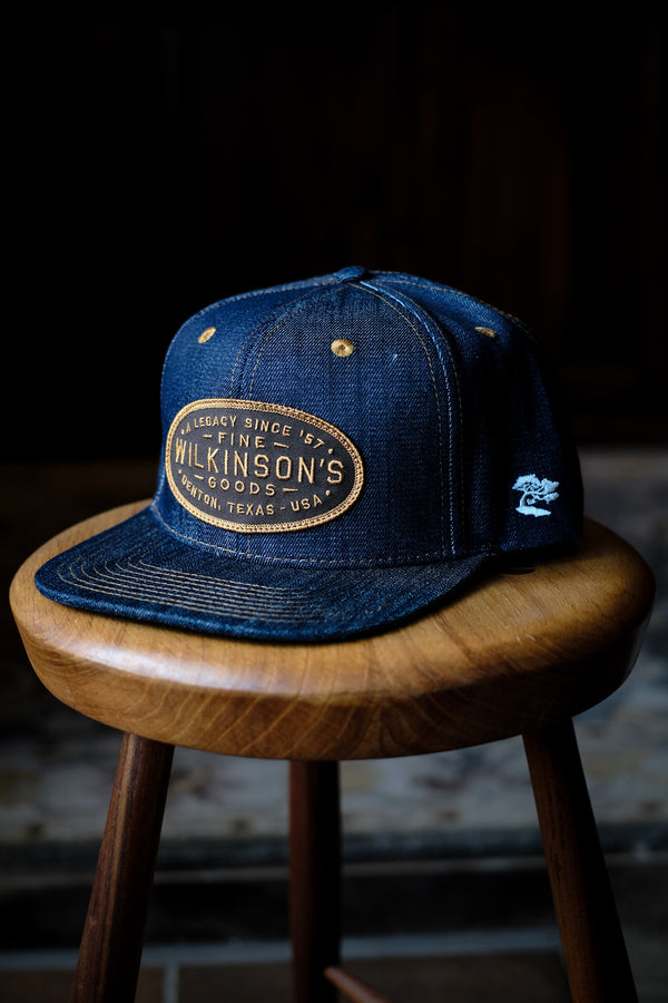 Wilkinson's Makers Mark Hat (Made In Texas With Texas Denim)