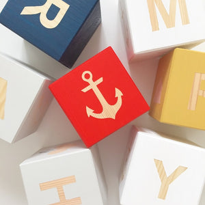 Shape Play Cube - Anchor