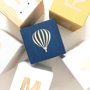 Shape Play Cube - Hot Air Balloon