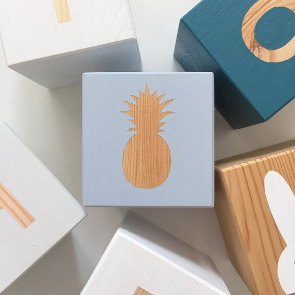Shape Play Cube - Pineapple