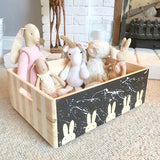 Nursery Inspiration - Bunny & Space Boxes