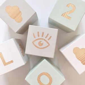 Shape Play Cube - Eye