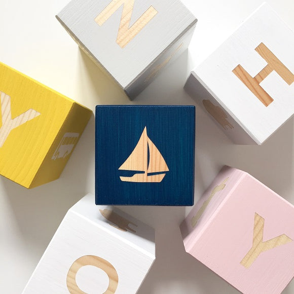 Shape Play Cube - Boat
