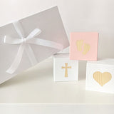 Mini Christening - Personalised Cube Block