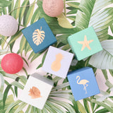 Personalised Baby Blocks - Tropical