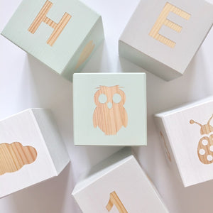 Shape Play Cube - Owl