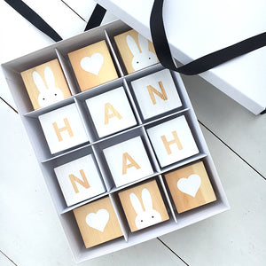 PERSONALISED NAME BLOCKS