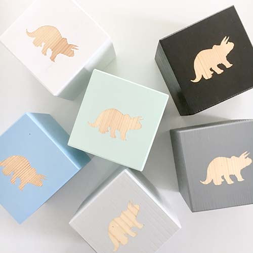 Shape Play Cube - Triceratops