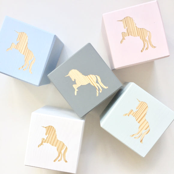 Shape Play Cube - Unicorn
