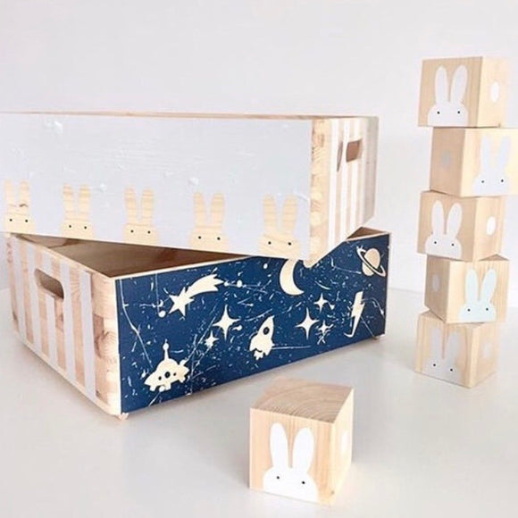 Make Your Own - Bunny & Space Boxes