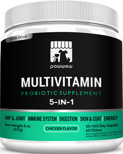 DOG MULTIVITAMIN WITH PROBIOTICS