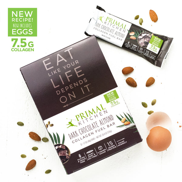 Dark Chocolate Almond Collagen Fuel Bars