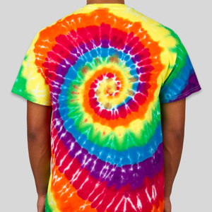Dyenomite 100 Cotton Rainbow Tie-Dye T