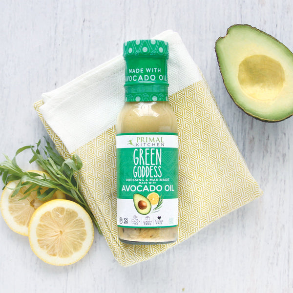 Primal Kitchen Green Goddess Salad Dressing Made with Avocado Oil