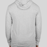 Next Level Tri-Blend Hooded Long Sleeve T