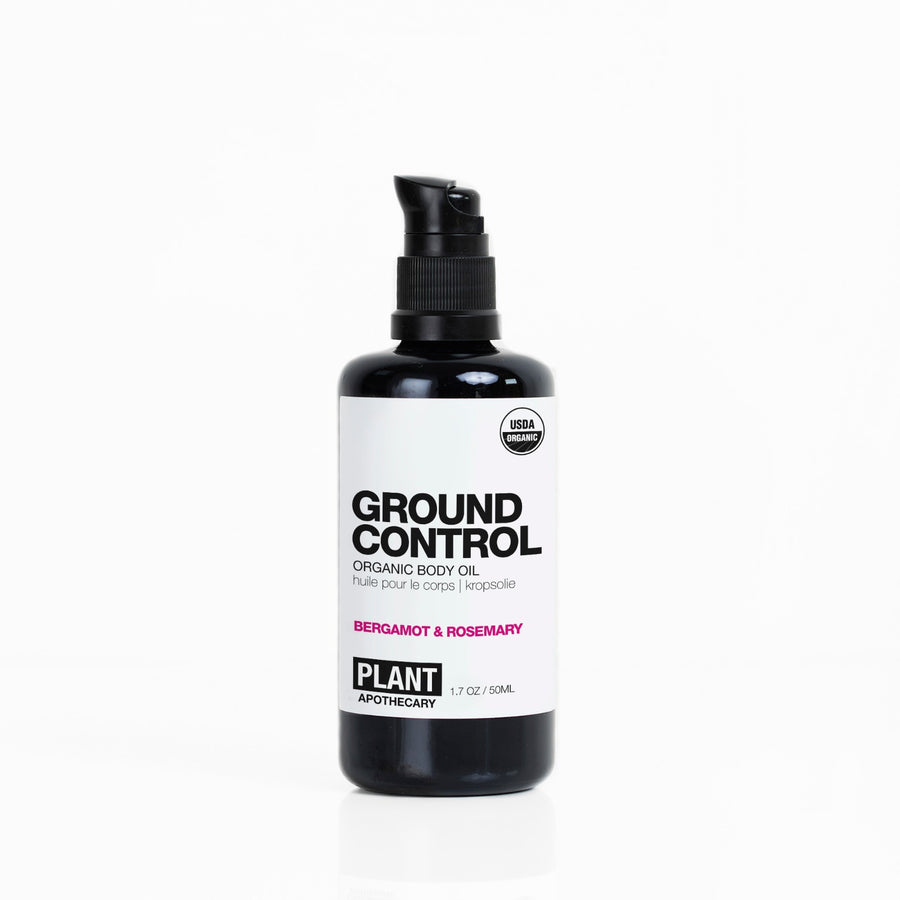GROUND CONTROL Certified Organic Body Oil