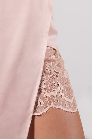 The Lolita Silk and Lace Dress