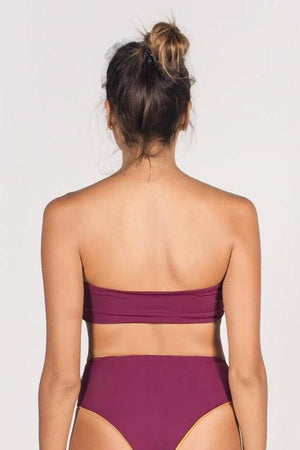 The Dewi Reversible Bikini Tube Top