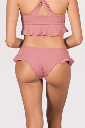 The Candra Ruffled Bikini Bottoms