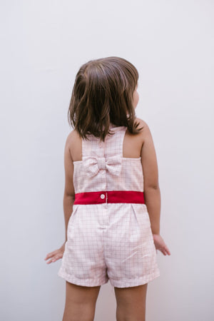 The Mini Charmaine Bow Onesie