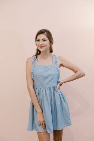 The Candace Pinafore Dress