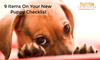 9 Items On Your New Puppy Checklist