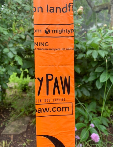 Mighty Paw Dog Poop Bags with Perforation