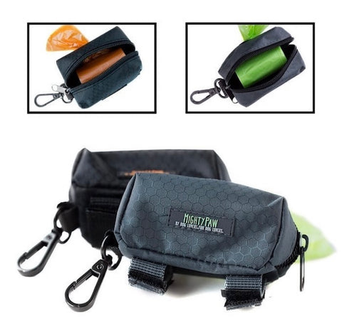 Mighty Paw's Dog Poop Bag Holder Comes in 2 different colors