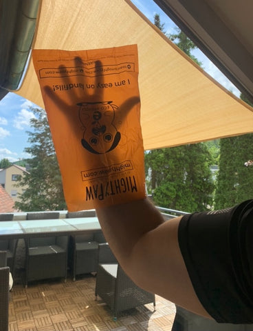 Mighty Paw's Poop Bags fit Hands of Any Size