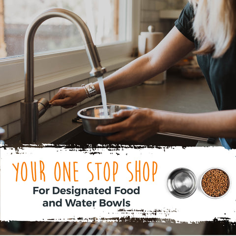 Mighty Paw is your designated on stop shop for dog food bowls and water bowls
